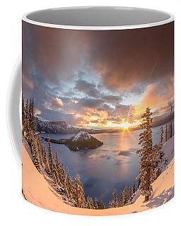 Sunrise After Summer Snowfall Coffee Mug