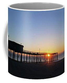 Sunrise And The Pier Coffee Mug