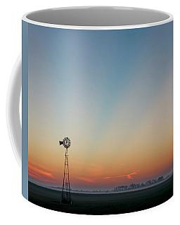 Sunrise And Windmill 02 Coffee Mug by Rob Graham
