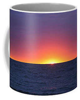 Coffee Mug featuring the photograph Sunrise Arch Of Colors by Robert Banach