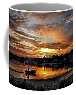 Sunrise At Back Cove Coffee Mug