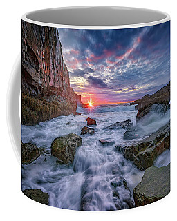 Sunrise At Bald Head Cliff Coffee Mug by Rick Berk