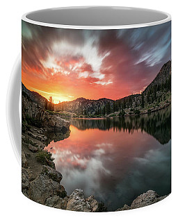 Sunrise At Cecret Lake Coffee Mug