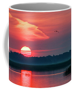 Sunrise At Cheyenne Bottoms 03 Coffee Mug