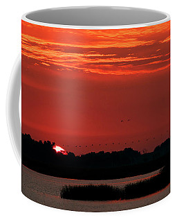 Sunrise At Cheyenne Bottoms 04 Coffee Mug