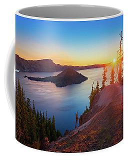 Sunrise At Crater Lake Coffee Mug