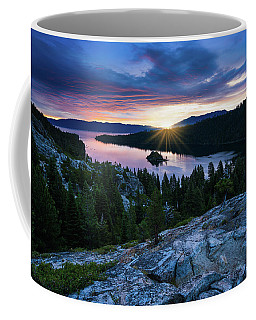 Sunrise Over Emerald Bay In Lake Tahoe Coffee Mug