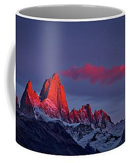 Sunrise At Fitz Roy #3 - Patagonia Coffee Mug
