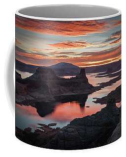 Sunrise At Lake Powell Coffee Mug
