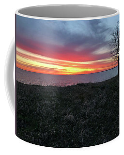 Sunrise At Lake Sakakawea Coffee Mug