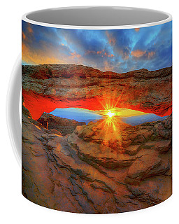 Sunrise At Mesa Arch Coffee Mug