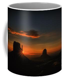 Sunrise At Monument Valley Coffee Mug
