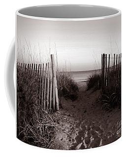 Sunrise At Myrtle Beach Sc Coffee Mug by Susanne Van Hulst