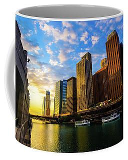 Sunrise At Navy Pier Coffee Mug