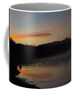 Sunrise At Oxbow Bend Coffee Mug