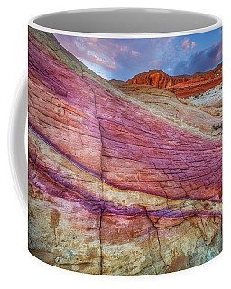 Coffee Mug featuring the photograph Sunrise At Rainbow Rock by Darren White