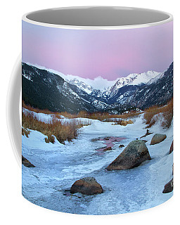 Sunrise At Rocky Mountain National Park Coffee Mug