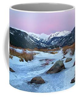 Sunrise At Rocky Mountain National Park Coffee Mug