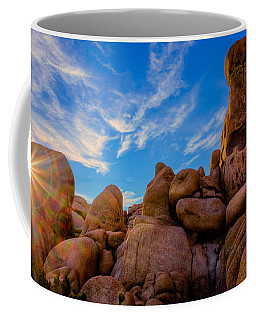 Sunrise At Skull Rock Coffee Mug