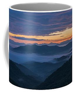 Sunrise At Standing Indian Gap Coffee Mug