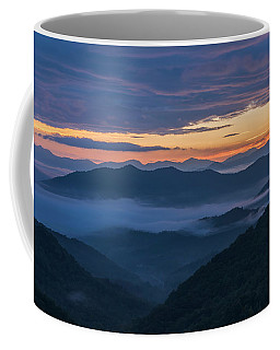 Sunrise At Standing Indian Gap Coffee Mug