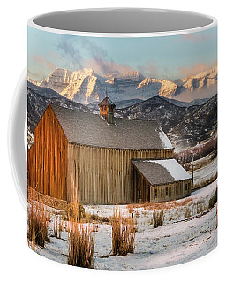 Sunrise At Tate Barn Coffee Mug