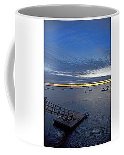 Sunrise At The Barnstable Yacht Club Coffee Mug