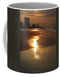 Sunrise At The Beach Coffee Mug by Eric Liller