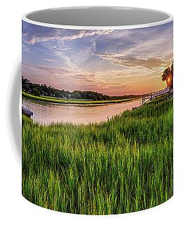Sunrise At The Boat Ramp Coffee Mug
