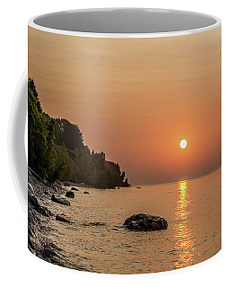 Sunrise At The Cliffs Coffee Mug