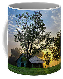 Coffee Mug featuring the photograph Sunrise At The Farm by George Randy Bass