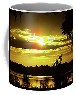 Sunrise At The Lake Coffee Mug
