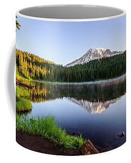 Mount Rainier Viewed From Reflection Lake Coffee Mug