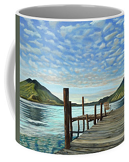 Sunrise At The Water Coffee Mug