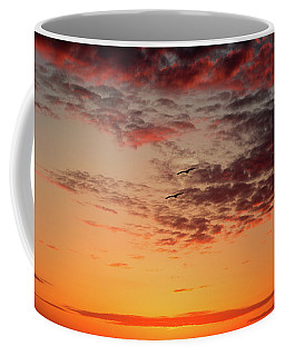Coffee Mug featuring the photograph Sunrise At Treasure Island by RC Pics