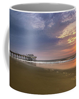 Sunrise At Tybee Island Pier Coffee Mug