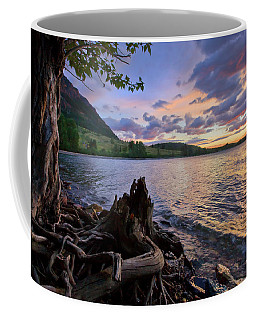 Sunrise At Waterton Lakes Coffee Mug