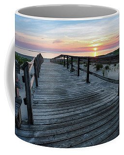 Sunrise Boardwalk, Cranes Beach Coffee Mug