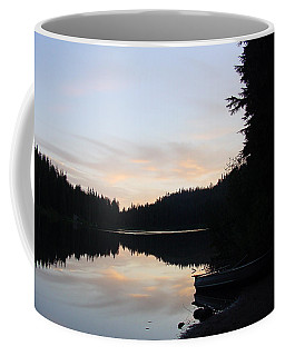 Sunrise Boat  Coffee Mug