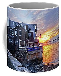 Sunrise By The Barnacle Marblehead Ma Coffee Mug