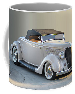 Coffee Mug featuring the photograph Sunrise Cabrio by Bill Dutting