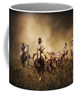 Sunrise Cattle Drive Coffee Mug