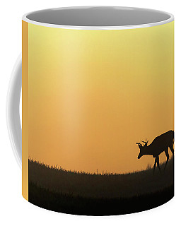Sunrise Deer Coffee Mug