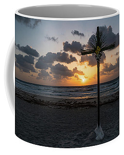 Sunrise Easter Cross Delray Beach Florida Coffee Mug
