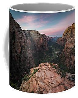 Sunrise From Angels Landing Coffee Mug