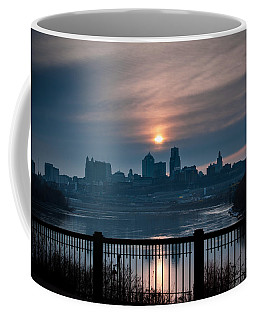 Sunrise From Kaw Point Coffee Mug