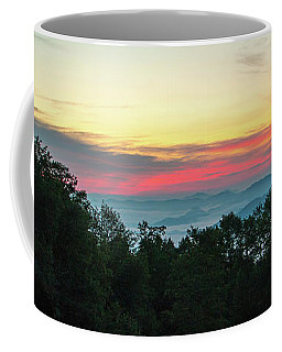 Sunrise From Maggie Valley August 16 2015 Coffee Mug
