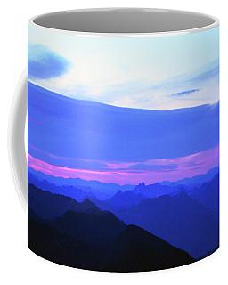Sunrise From Pilchuck Summit Coffee Mug