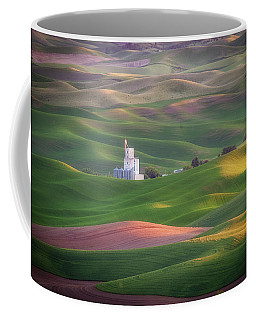 Sunrise From Steptoe Butte. Coffee Mug