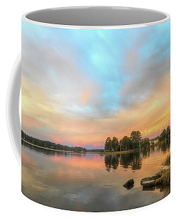 Coffee Mug featuring the photograph Sunrise, From The West by Cindy Lark Hartman